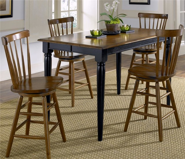 farmhouse dining set liberty furniture creations ii dining collection 10746