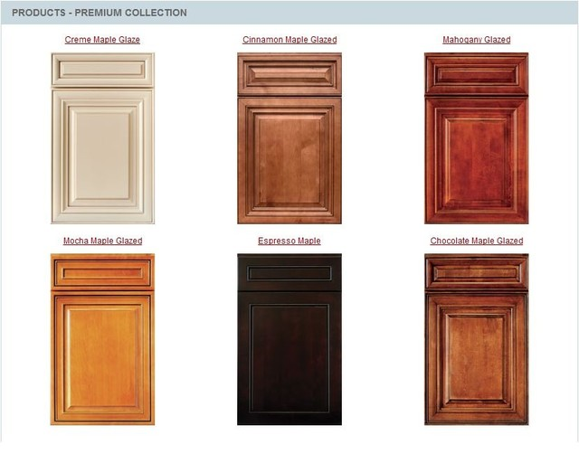 Cabinet color samples mf cabinets - Stain inside of cabinets ...